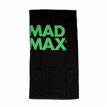 "Полотенце ""Mad Max Sport Towel"" Mad Max Черный/зеленый"