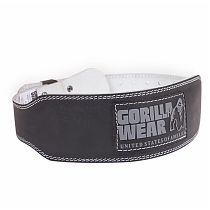 "Пояс ""GW Leather Belt"" Gorilla wear Черный"